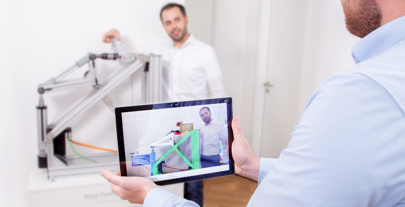 DIGITALER ZWILLING UND VIRTUAL REALITY (VR) /AUGMENTED REALITY (AR)
