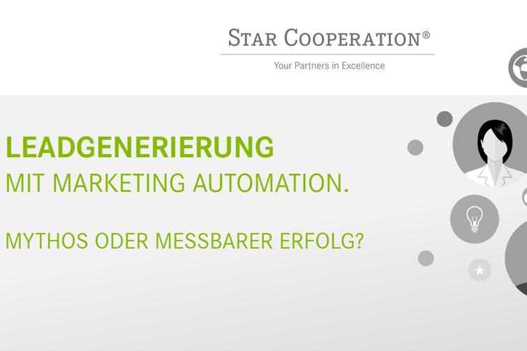 Automatisiert Leads generieren? STAR beim Marketing & Sales Day